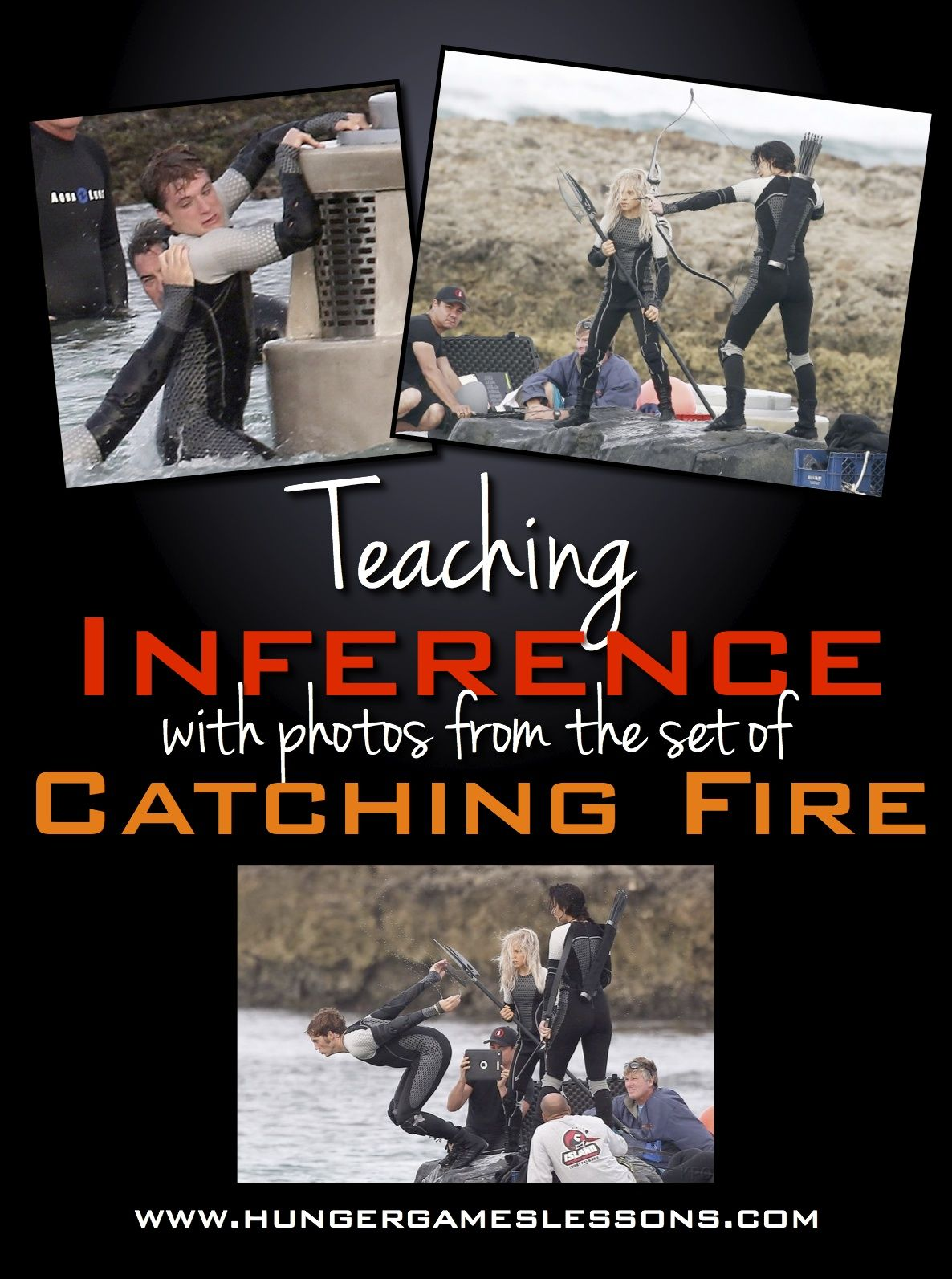 Teaching Inference Using Pictures From The Set Of Catching