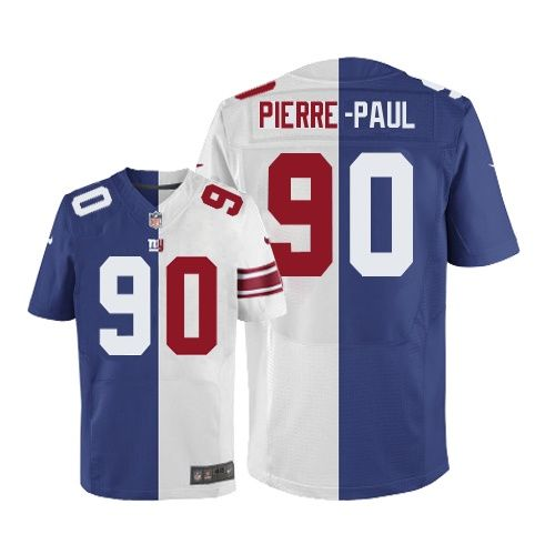 nfl jerseys  mens nike new york giants 90 jason pierre paul elite team road