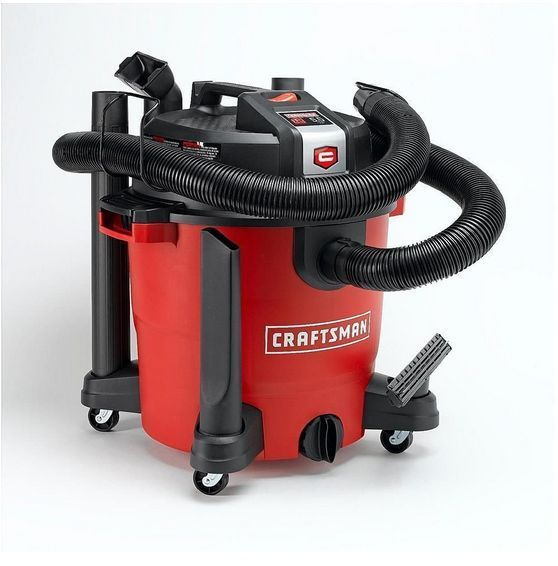 Craftsman Xsp 12 Gallon Shop Garage Vacuum Blower Wet Dry 5 5 Peak Hp Motor Craftsman Wet Dry Vac Wet Dry Vacuum Shop Vacuum