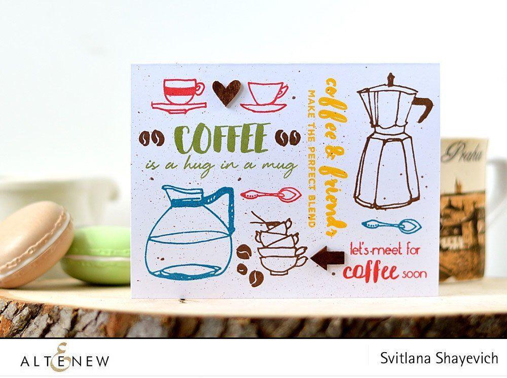 Coffee love stamp die bundle coffee love love stamps