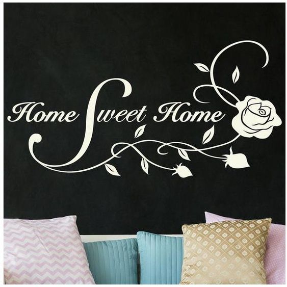 Imagery Wall Decal »Home Sweet Home«#decal #home #imagery #sweet #wall
