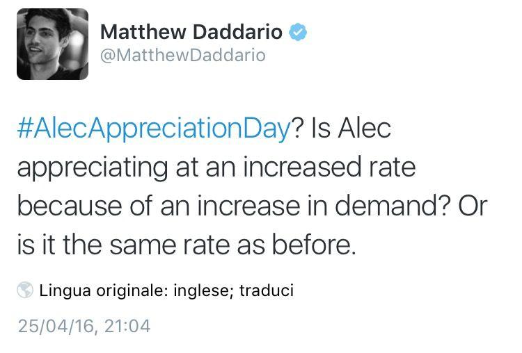 #AlecAppreciationDay
