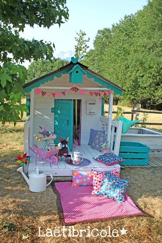 cabane des enfants 4 | cabane pour petite fille en 2019 | Spielhaus ...