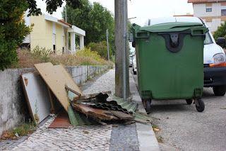 O Palhetas na Foz: Ecopontos sem vazão ajudam ao lixo no chão!