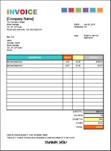 House Painting Invoice DOWNLOAD At Httpwwwexcelinvoicetemplates - Painting invoice sample