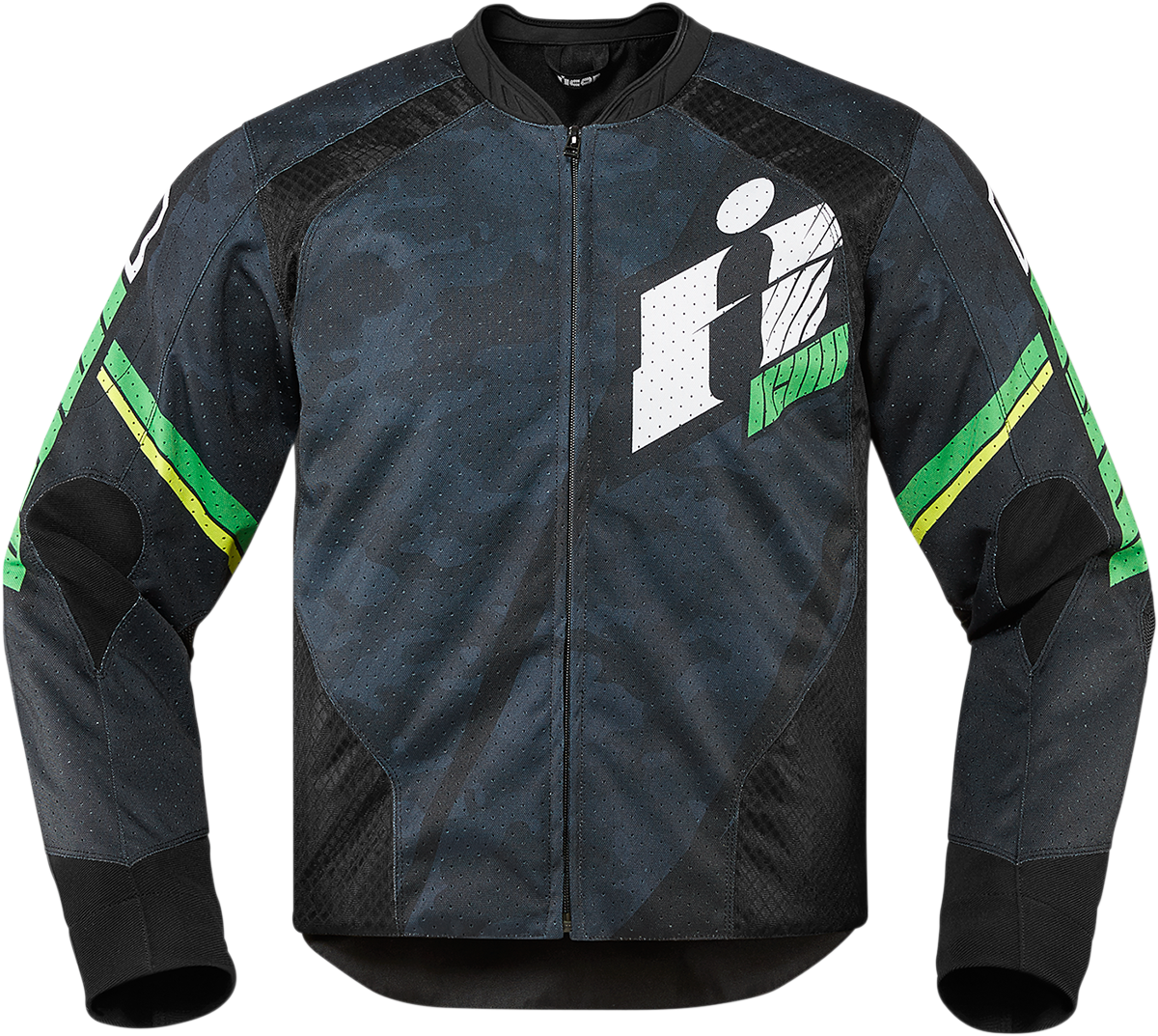 Overlord Primary Jacket Green Products Ride Icon