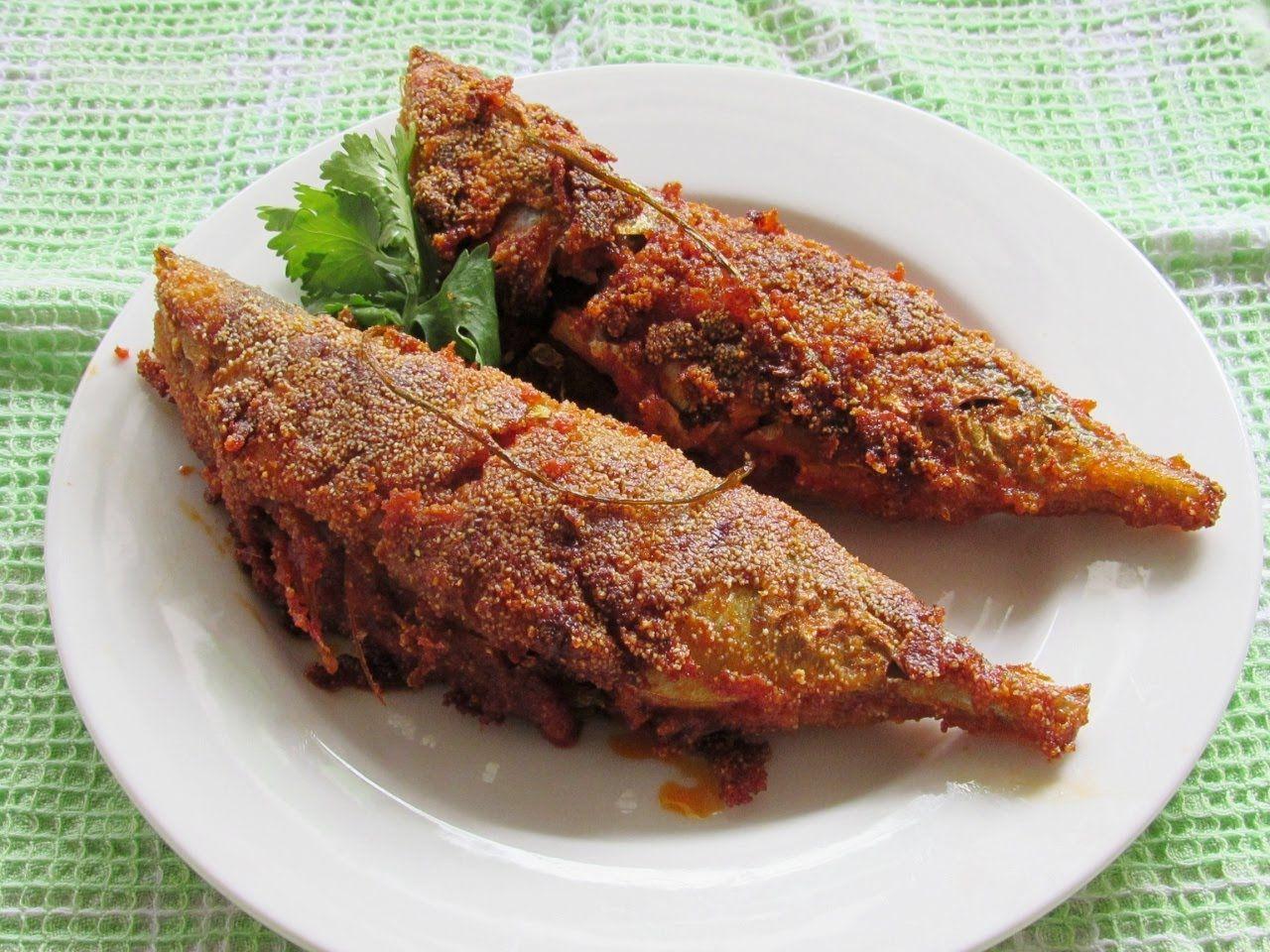 Rava Fish Fry Mangalore Style Fish Fry Bangade Bangada Fry Nisa Seafood Recipes Food Network Recipes Fish Fry Recipe Indian