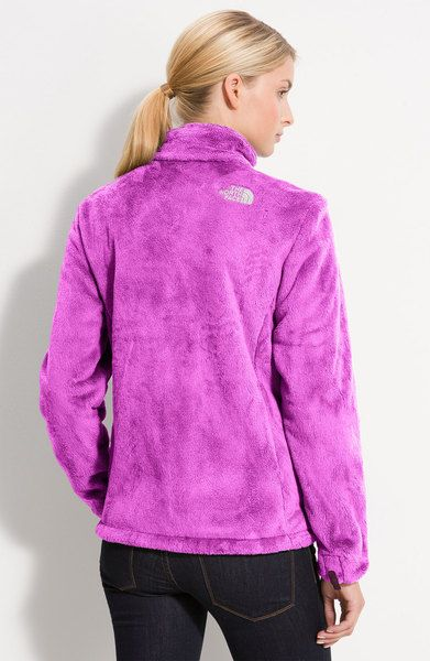 The North Face Osito Fleece Jacket in Purple (plush purple) - ESTA ...