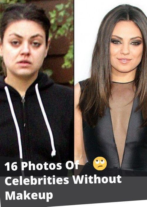Photo of 16 photos of celebrities without makeup