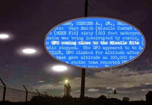 A realidade de incursões de UFOs em instalações de armas nucleares Americanas!! (VÍDEOS)