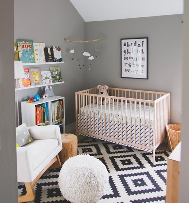 Baby Nursery Decor Design A Nursery That Will Make Your: How To Make Your $99 IKEA Cot Look Like A Million Bucks