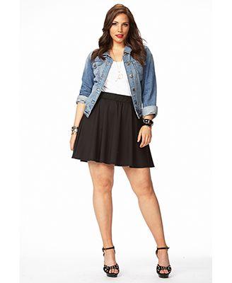 Plus Size Skirt Dress