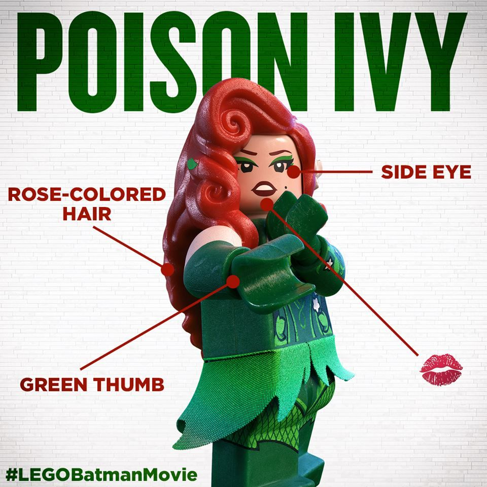 Meet Poison Ivy! #LEGOBatmanMovie #LEGO #Batman #LEGOBatman #BreakTheRules #EverythingIsAwesome #MashupMadness #CombineYourLEGO