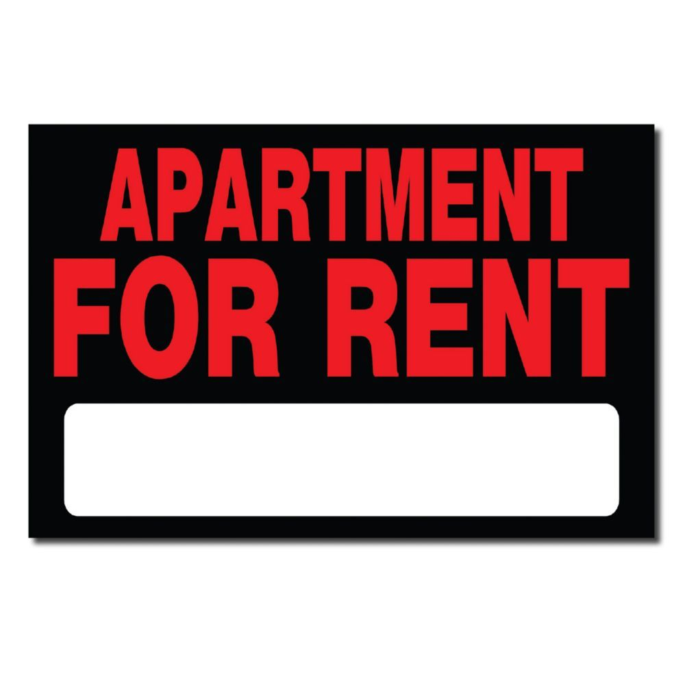 8 X 12 Sign Apartment For Rent Apartments For Rent Retail Logos Rent
