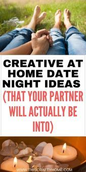 Creative cheap date night at home ideas (that you'll both enjoy) #stayathome The