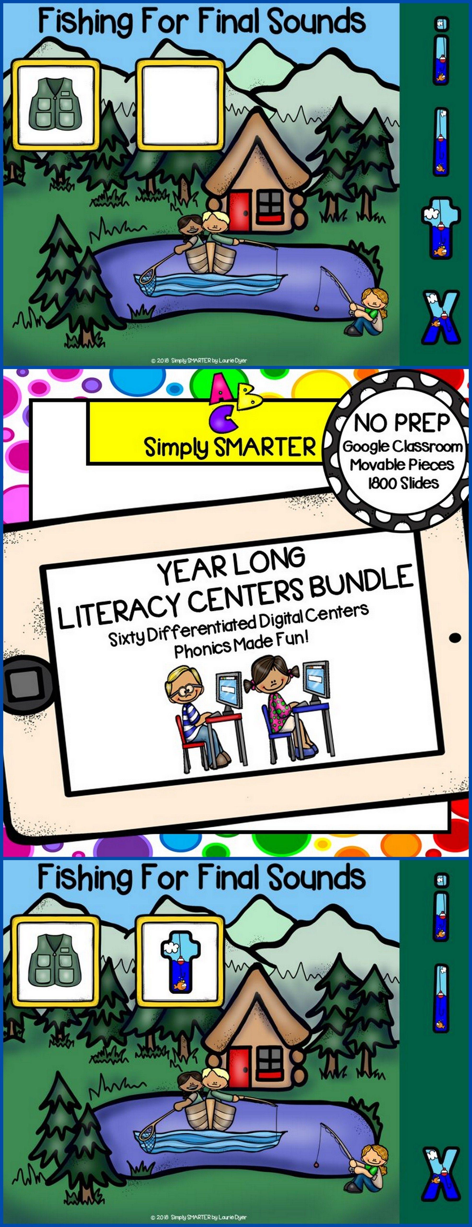 Kindergarten Digital Literacy Centers For Classroom