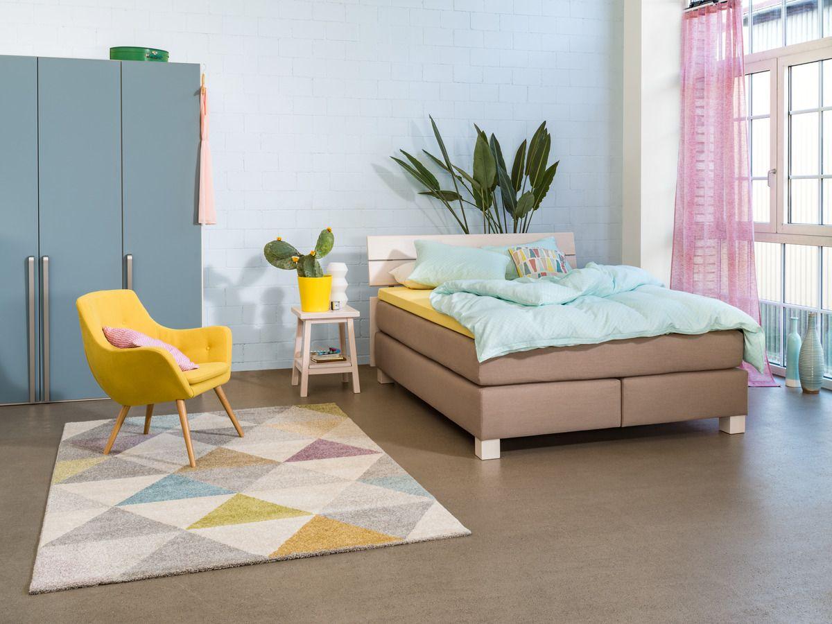 micasa schlafzimmer mit boxspringbett classic und drehtürenschrank, Schlafzimmer entwurf