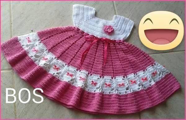 Pin von Xiomara Wong auf Baby | Pinterest | Kleider, Stricken und Häkeln