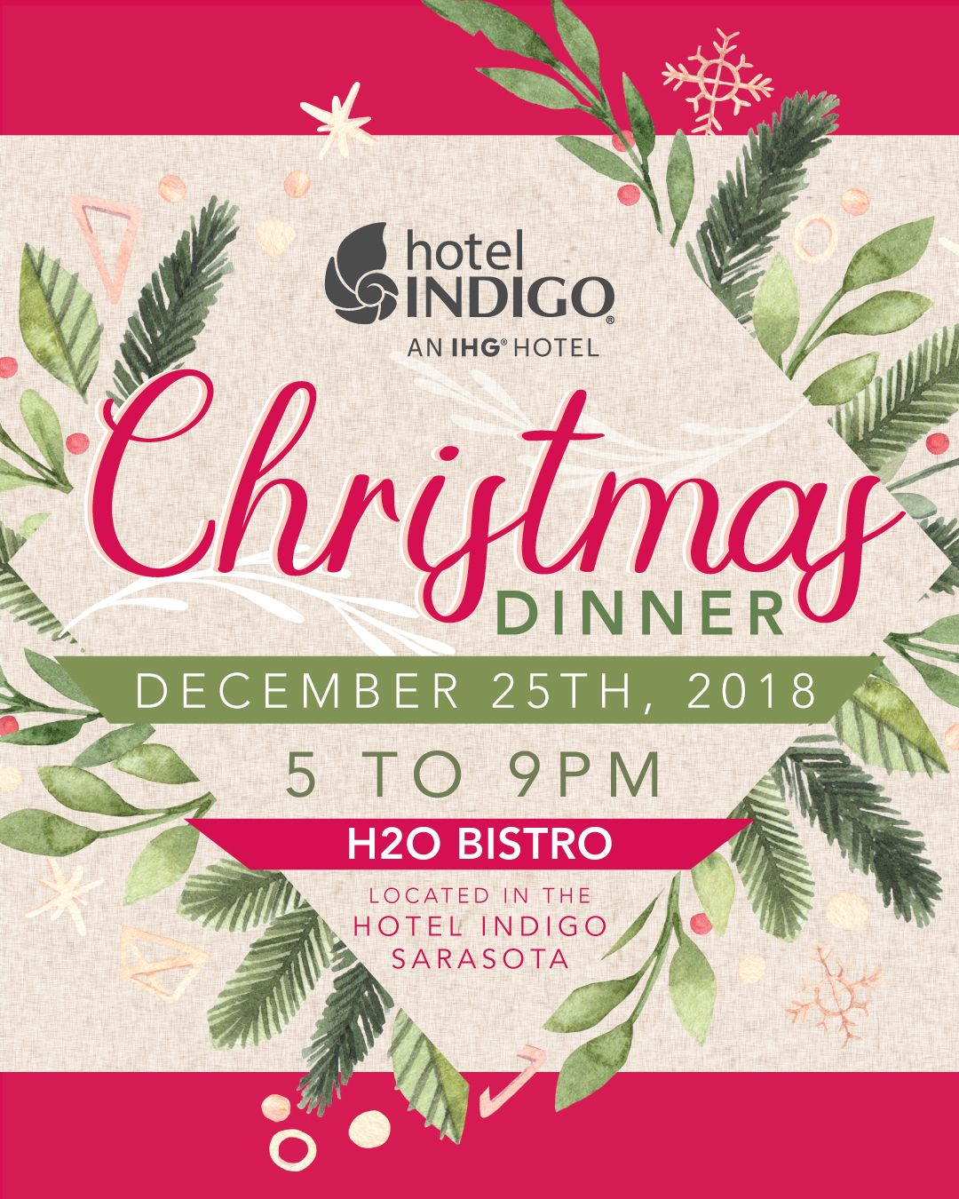 Christmas Buffet Menus.Get Ready To Chow Down With Us Here At H2o Our Onsite