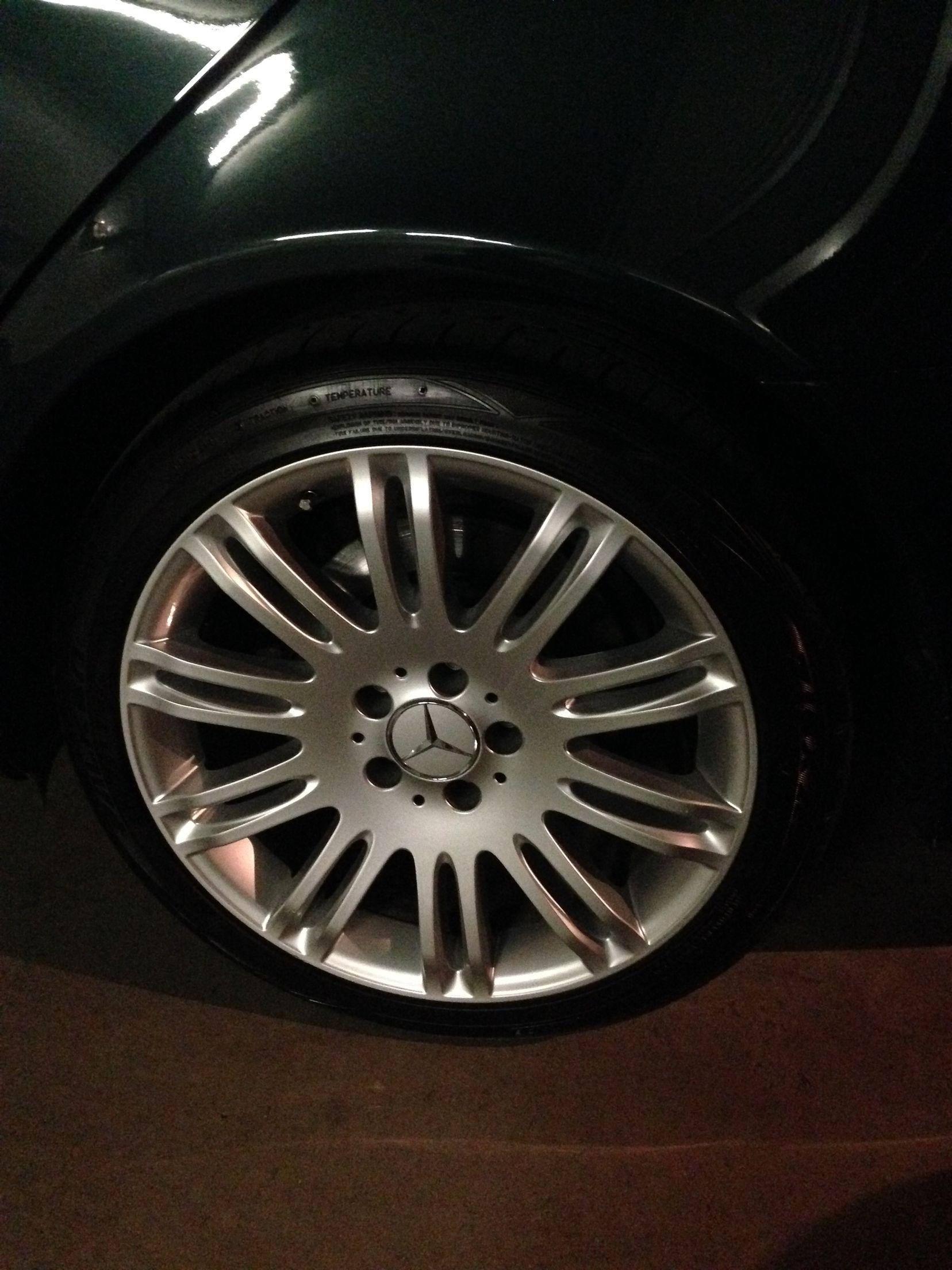 "Mercedes Benz w211 avantgarde sport 18"" wheels"