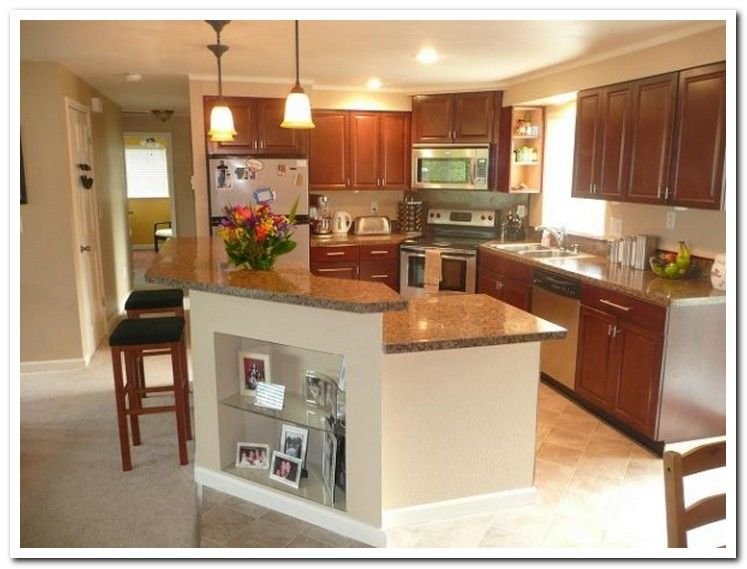 1970s Split Level Kitchen Remodel Home Sweet Home