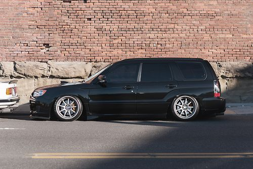 Stanced Cars Subaru Forester Xt Subaru Cars Jdm Subaru