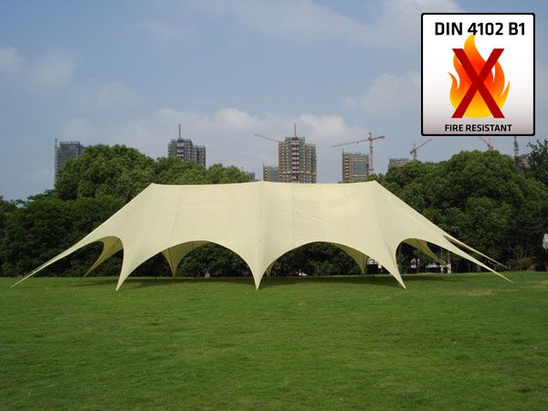 Portable XXL Star Tent 14x25m Marquee Shade Canopy Event Awning Party Wedding & Portable XXL Star Tent 14x25m Marquee Shade Canopy Event Awning ...