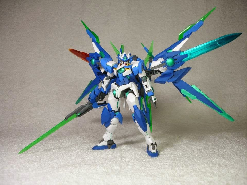 HG 1/144 PPGNQ-0000/A Amazing Force Qan[T] Custom Build - Gundam Kits Collection News and Reviews