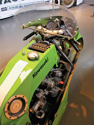 #Kawasaki #Z1 on Steroids. #Bikeporn