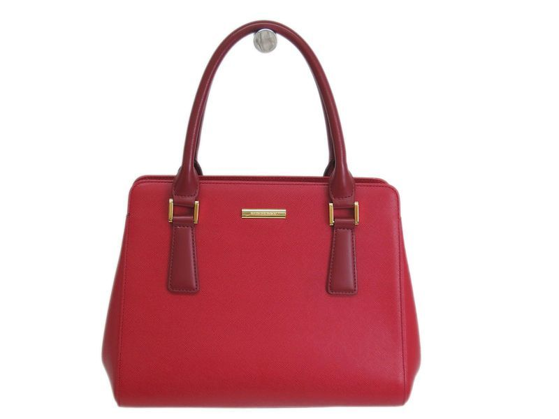 #Burberrys Hand bag Leather Red (BF069671). Authenticity guaranteed, free shipping worldwide & 14 days return policy. Shop more #preloved brand items at #eLADY: http://global.elady.com