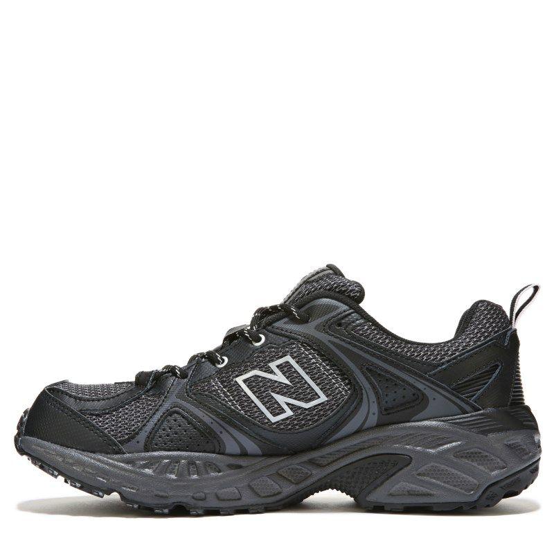 New Balance 481 Medium/X-Wide Trail Running Shoe Black/Silver - Mens Shoes