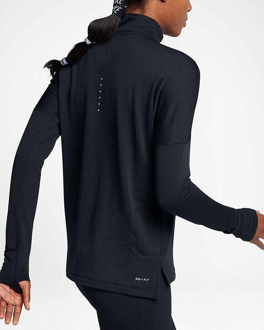 de02272f284eb Nike Therma Sphere Element Women s Long Sleeve Running Half-Zip Top ...