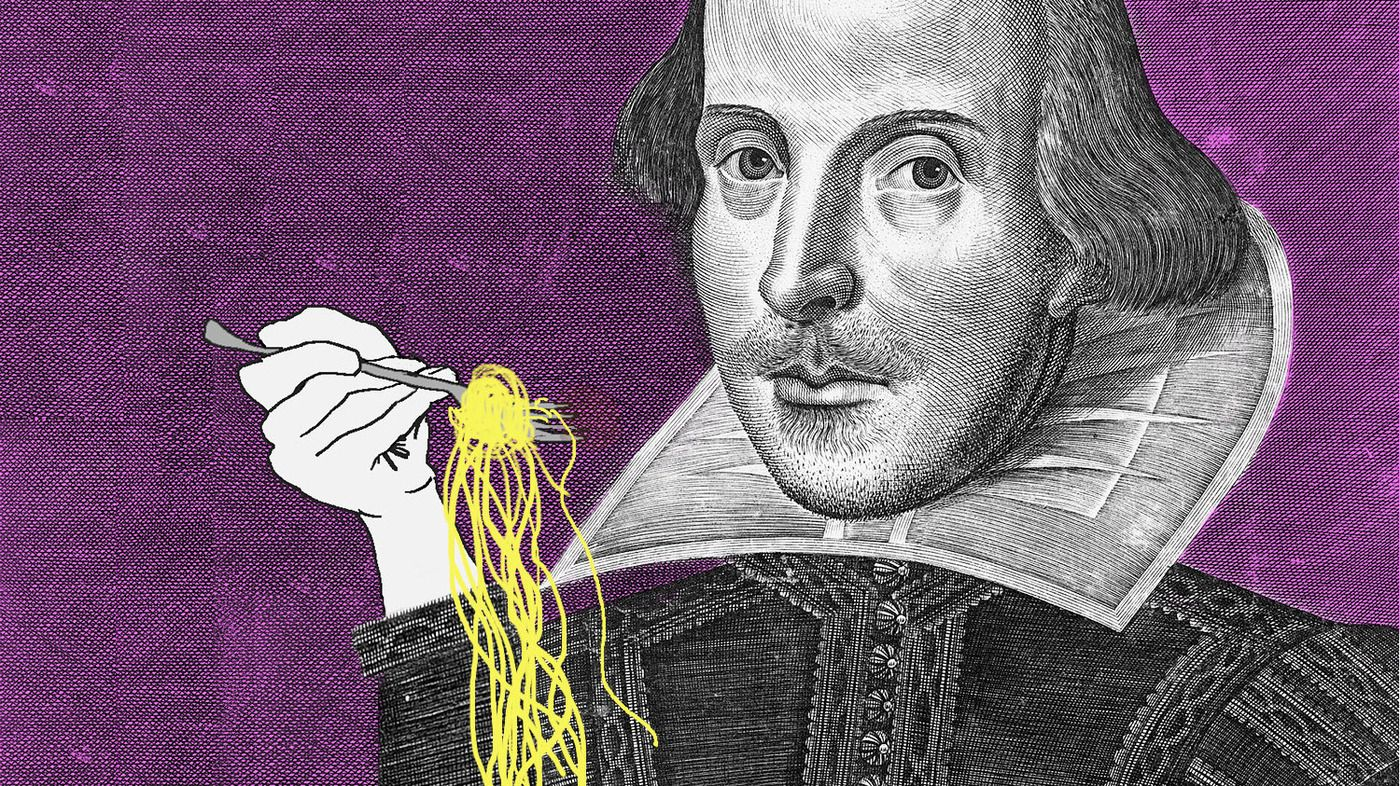 It's difficult to name a play in which Shakespeare doesn't cook up a bit of conflict around the table. The juiciest plot twists often happened when characters gathered for a meal.