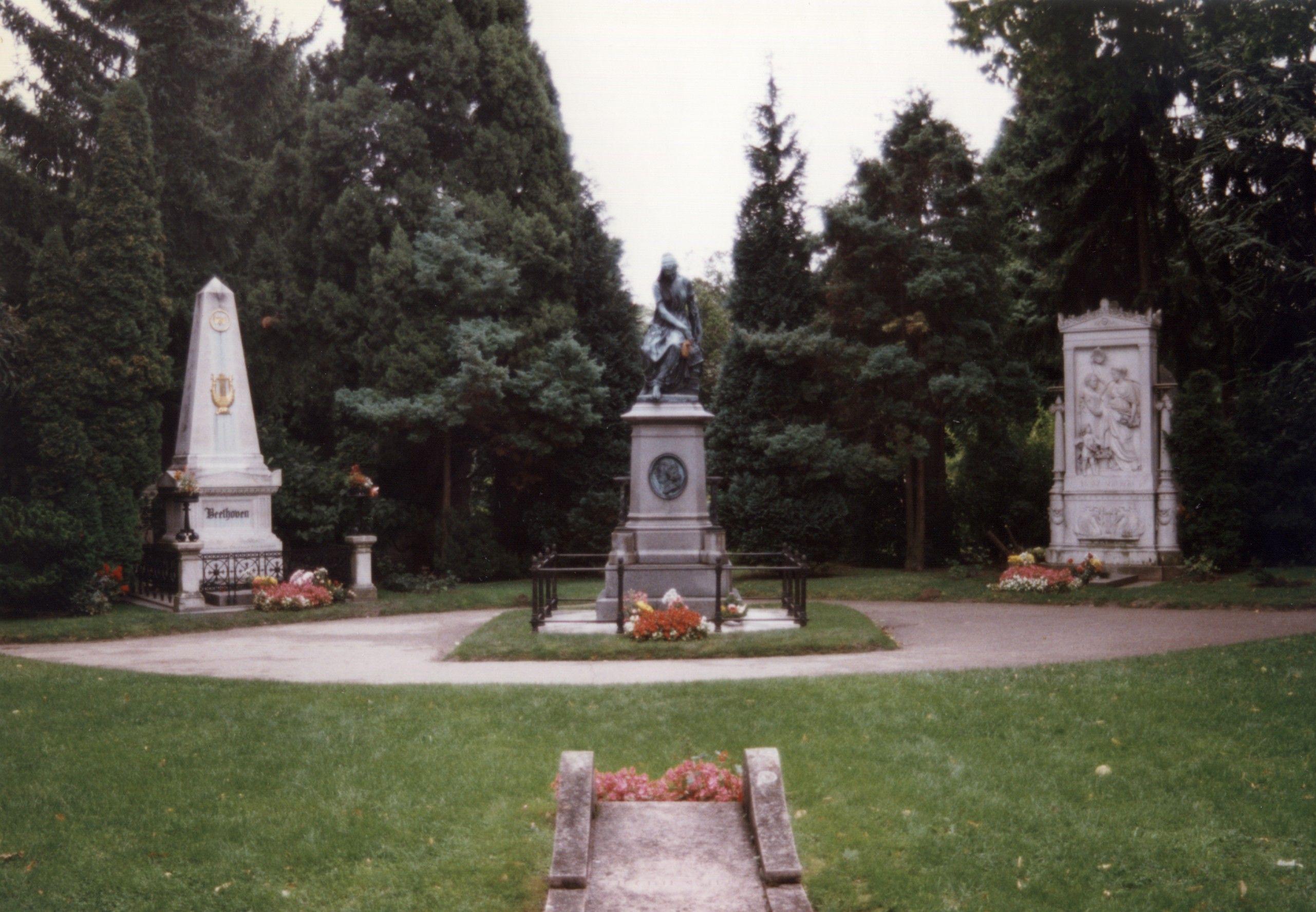 Beethoven Mozart Memorial And Schubert Vienna Cemeteries Beethoven