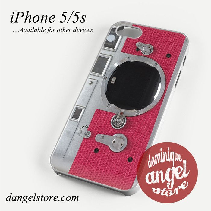 shocking pink camera Phone case for iPhone 4/4s/5/5c/5s/6/6s/6 plus