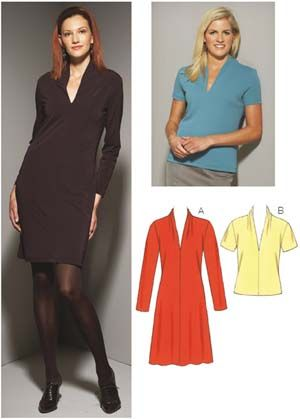 Kwik Sew 3658 Misses Dress Top Kwik Sew Patterns And Sewing