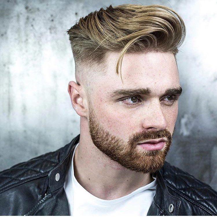 Bald Fade Medium Length Hair Types Men Mens Hairstyles Men Hair Color
