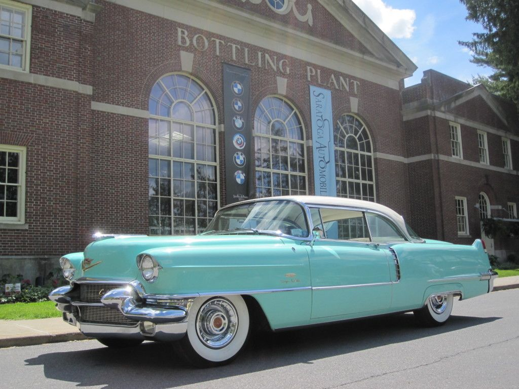 antique #50s #Cadillac #streamlined #whitewall #tires #color #tail