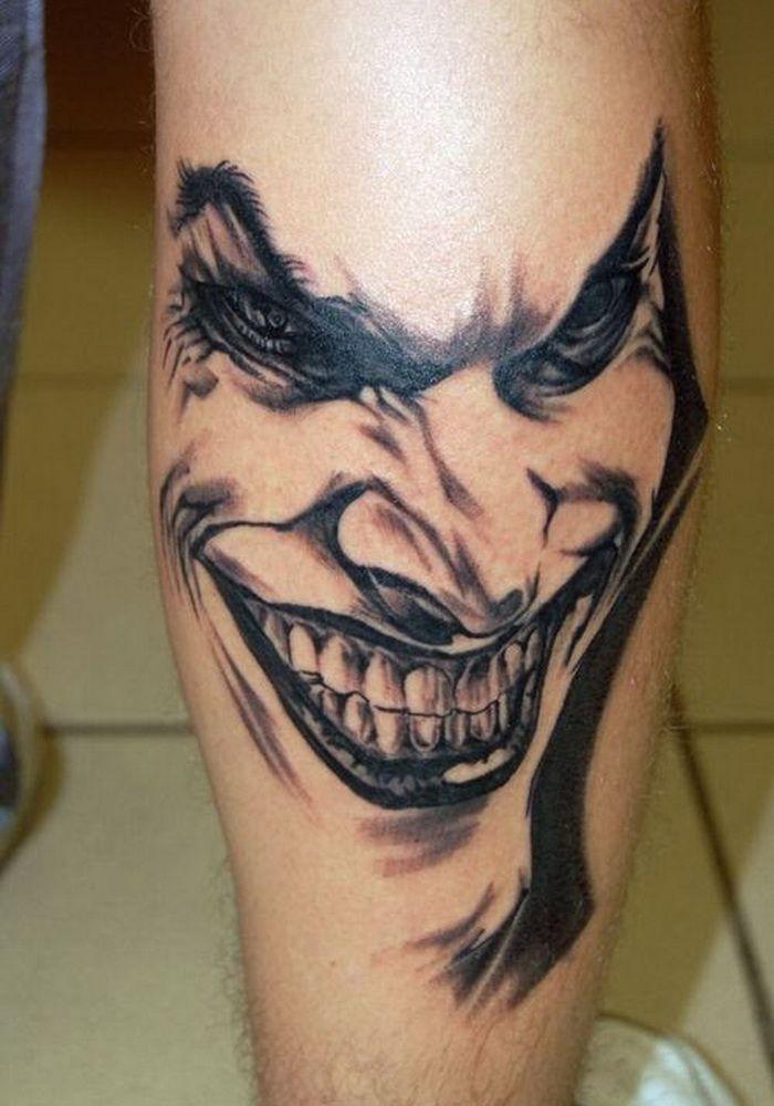 50 Verruckte Joker Tattoos Designs Und Ideen