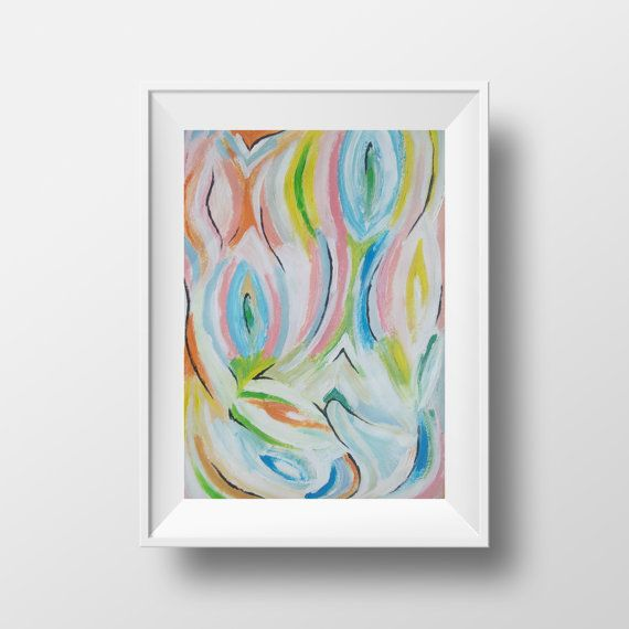 The Harmony Abstract Art | Painting frames, Oil and Paintings