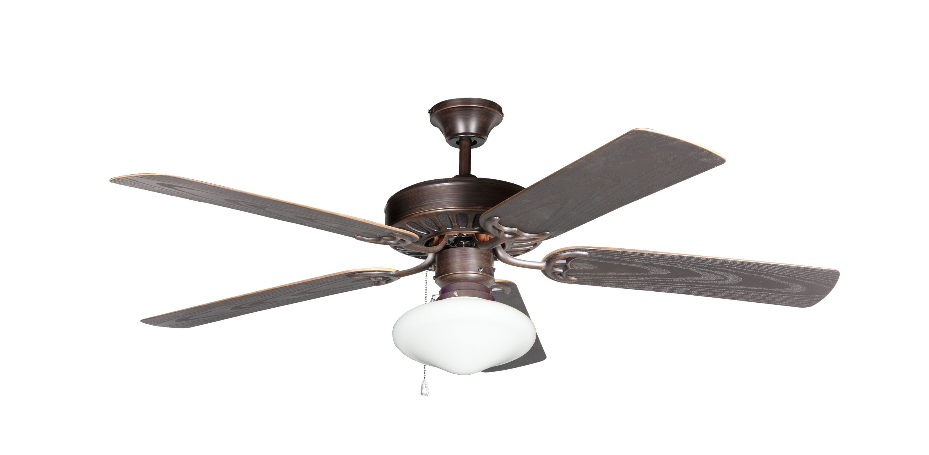 TroposAir ProSeries Builder 52 in. Outdoor Ceiling Fan in