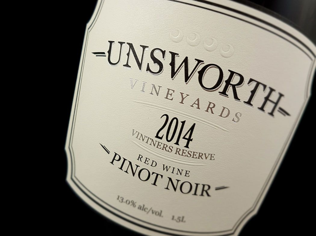 2014 Unsworth Pinot Noir Reserve Revealed As Mystery Wine