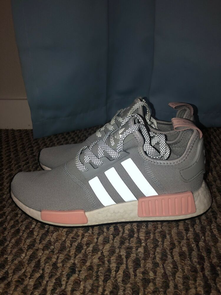 buy popular 1772e c46cd Adidas NMD R1 Clear Onix Vapour Pink Sz 9.5 Womens  fashion  clothing  shoes