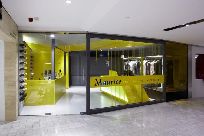 2011 Colour In Commercial Design Maurice Dry Cleaners