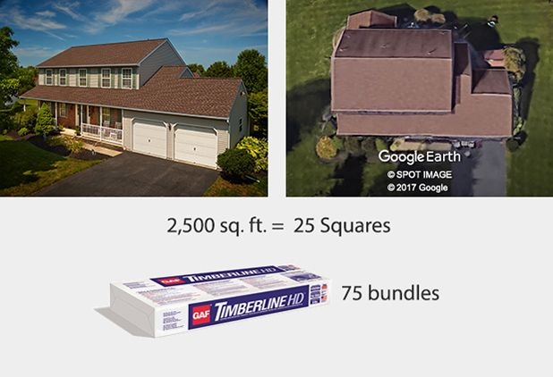 Best Gaf Timbertex Charcoal Hip And Ridge Shingles 20 Linear 400 x 300