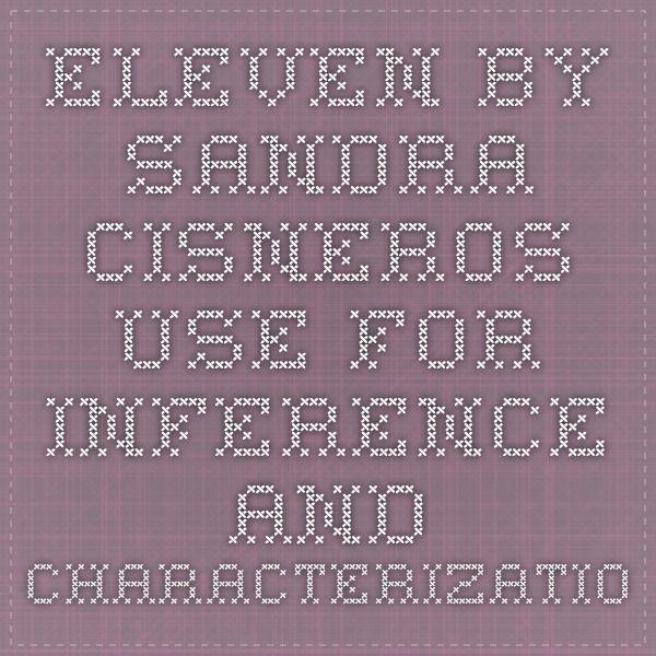 eleven by sandra cisneros plot diagram