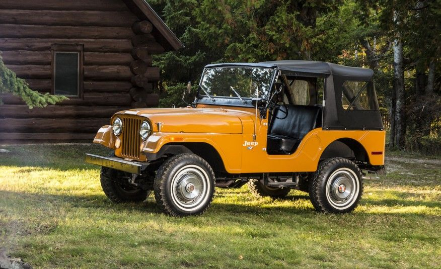 Old Jeeps Are Cool And They Look Even Cooler In This Collection Of Stunning Photos See The Images And Read More At Car And Driver Jeep Cj Old Jeep Jeep Cj5