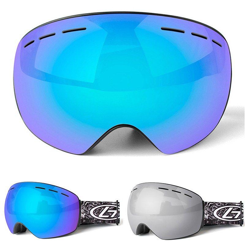 f39833bd2ef9 Brand Ski Goggles Double Layers Uv400 Anti-Fog Big Ski Mask Glasses Skiing  Men Women Snow Snowboard Goggles Skiiing Eyewear