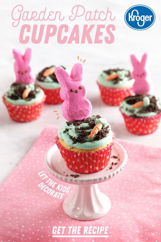 Garden patch cupcakes recipe easter cupcakes food