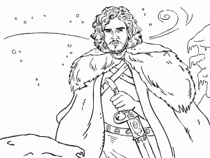Game of Thrones Coloring Book Coloring Pinterest Coloring